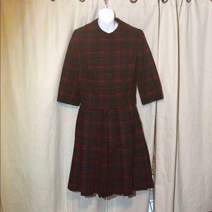 Pendleton wool Vintage antique skirt suit